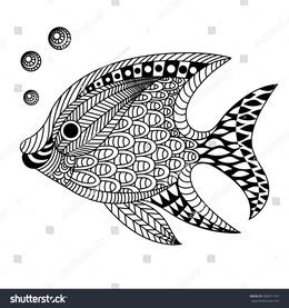 Zentangle fish clipart clip art library download Download doodle art of a fish clipart Doodle Drawing Zentangle clip art library download