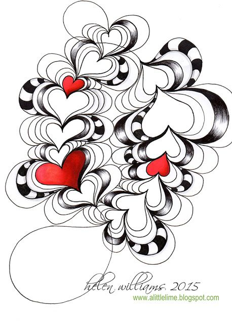 Zentangle heart clipart graphic freeuse stock Collection of Zentangle clipart | Free download best ... graphic freeuse stock