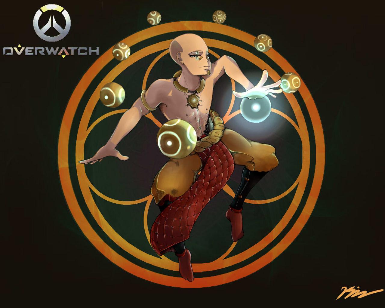 Zenyatta overwatch clipart clip Overwatch Fan Art Zenyatta by Keylime97 on DeviantArt clip