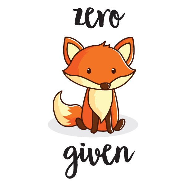Zero fox given clipart image royalty free stock Zero Fox Given Mug image royalty free stock