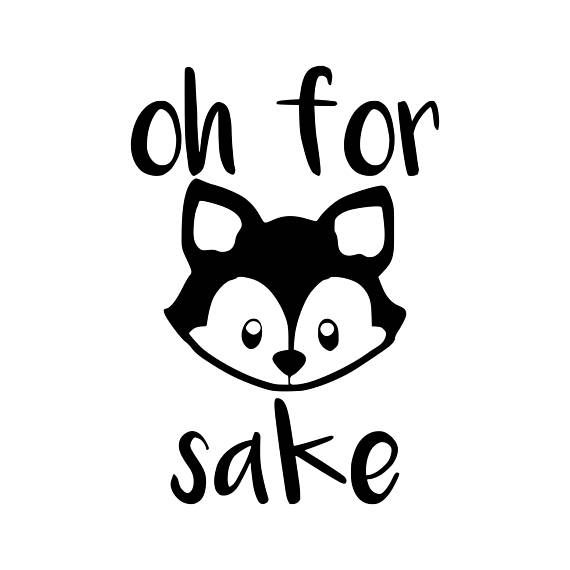 Zero fox given clipart png royalty free download For Fox Sake Funny Svg Files for Cricut Svg, Fox Decor, Fox ... png royalty free download