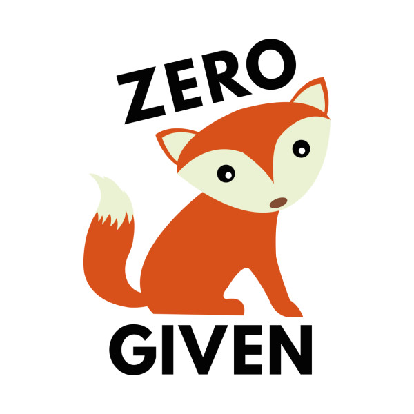 Zero fox given clipart svg black and white Zero Fox Given svg black and white