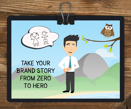 Zero hero exercise clipart vector freeuse Take Your Brand Story From Zero to Hero | LiftComms Social ... vector freeuse