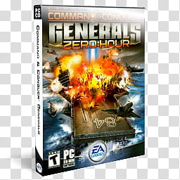 Zero hour clipart banner free DVD Game Icons v, Command & Conquer, Zero Hour, Command ... banner free