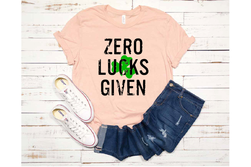 Zero lucks given clipart svg royalty free library Zero Lucks Given svg Luck Shamrock svg Zero St.Patrick\'s Day ... svg royalty free library