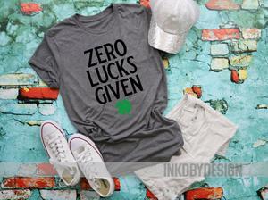 Zero lucks given clipart clipart stock Zero Lucks Given | Funny Lucky Womens Shamrock | St Patricks ... clipart stock