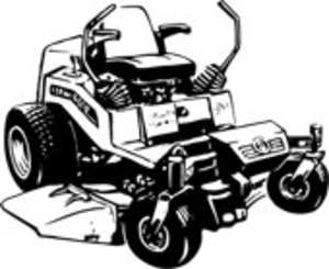 Zero turn mower clipart picture royalty free download Lawn Mower | Free Images at Clker.com - vector clip art ... picture royalty free download