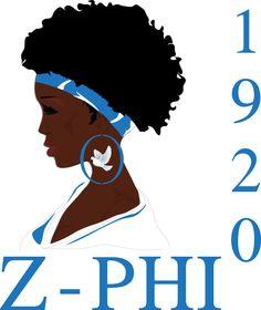 Zeta phi beta clipart image freeuse download Natural Hair Zeta Sorority Charger | Natural, Zeta phi beta and Hair image freeuse download