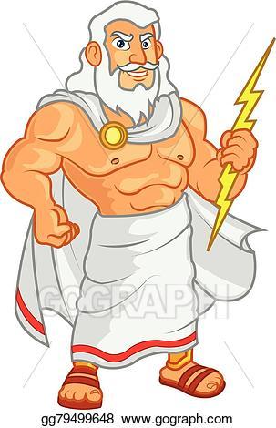 Zeus god clipart clip art library EPS Illustration - Zeus cartoon. Vector Clipart gg79499648 ... clip art library