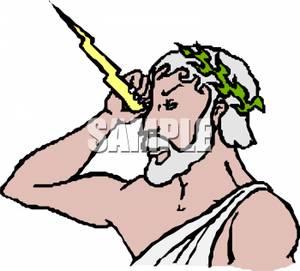 Zeus god clipart image transparent Zeus, The God of Gods - Royalty Free Clipart Picture image transparent