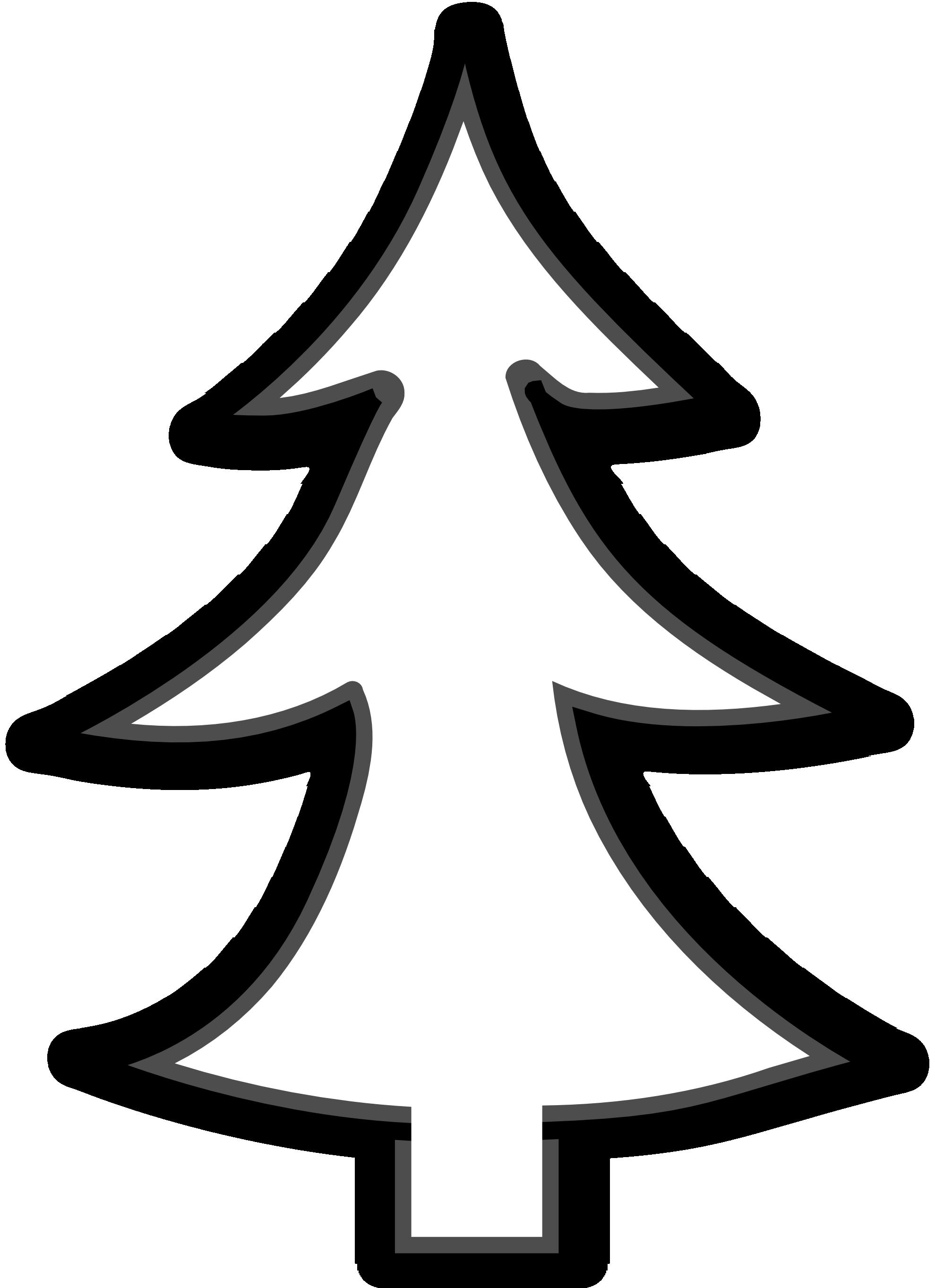 Zig zag christmas tree clipart jpg transparent stock christmas tree outline clip art | ideas | Pinterest | Tree outline ... jpg transparent stock