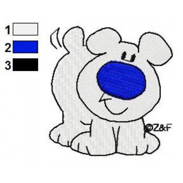 Ziggy fuzz clipart svg freeuse stock Fuzz the Dog Embroidery Design 02 svg freeuse stock