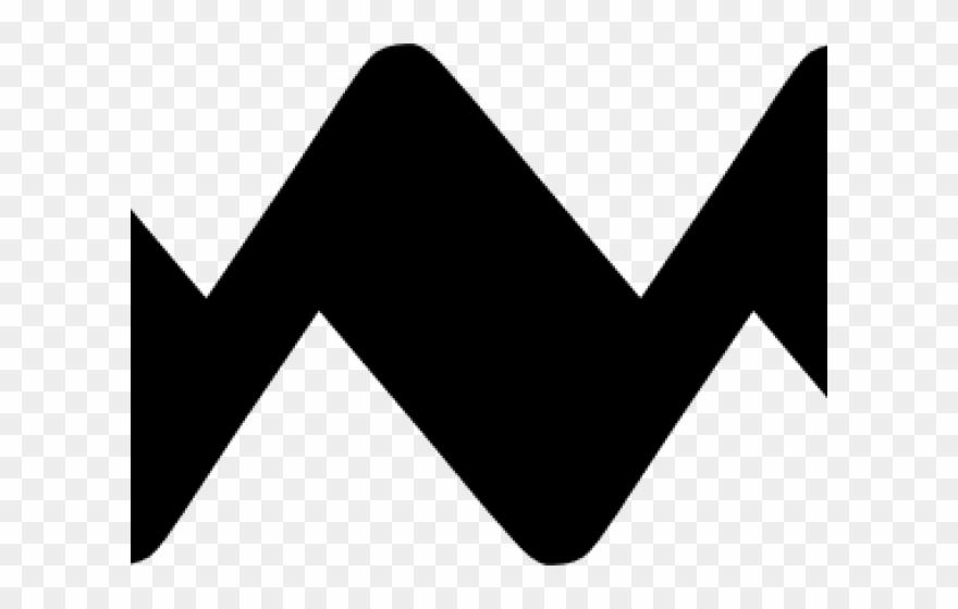 Zigzagline clipart banner black and white download Lines Clipart Zigzag - Png Download (#3801305) - PinClipart banner black and white download