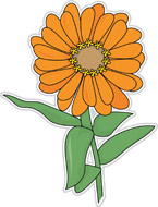 Zinnia clipart svg download Search Results for zinnia flower clipart - Clip Art ... svg download