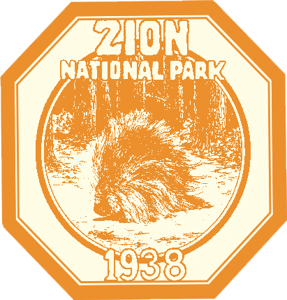 Zion national park clipart png svg black and white library Zion National Park Vintage transparent PNG - StickPNG svg black and white library