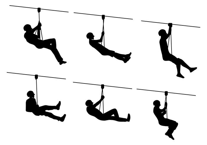 Zip line clipart graphic library library Zipline Vector - Download Free Vectors, Clipart Graphics ... graphic library library