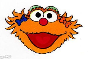 Zoe sesame street clipart birthday graphic free Image result for sesame street zoe face | Party ideas in ... graphic free