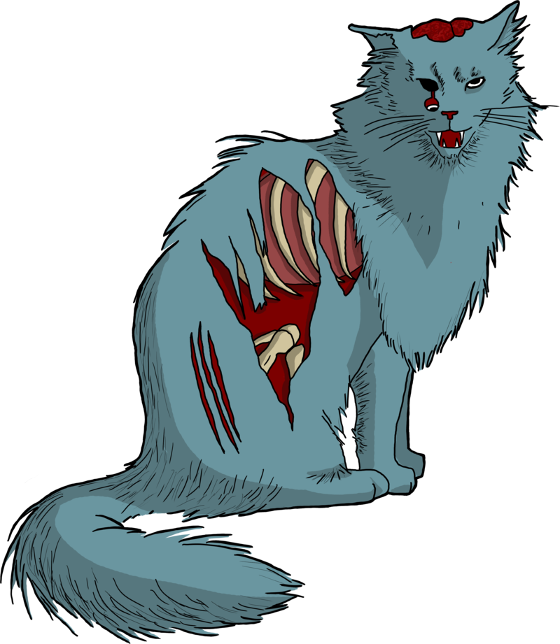Zombie cat clipart clip art library 28+ Collection of Zombie Cat Clipart | High quality, free cliparts ... clip art library