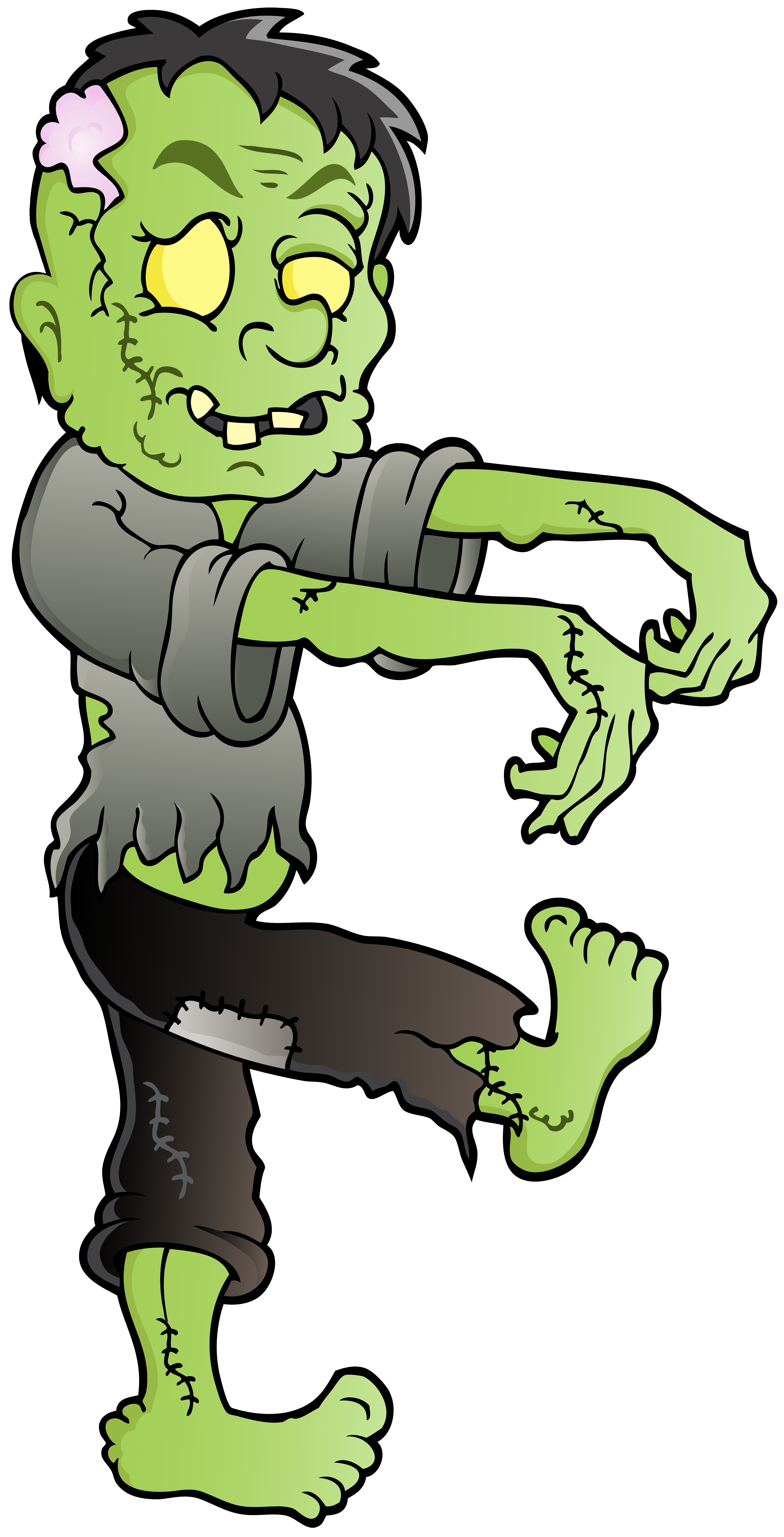 Zombie happy birthday clipart clip royalty free library Zombie PNG Clip Art Image | Gallery Yopriceville - High ... clip royalty free library