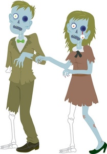 Zombie clipart halloween clip transparent library Free Zombie Clipart Image 0071-0908-1816-4647 | Halloween ... clip transparent library