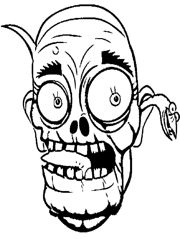 Zombie clipart outline image black and white download Free Zombie Clipart Black And White, Download Free Clip Art ... image black and white download
