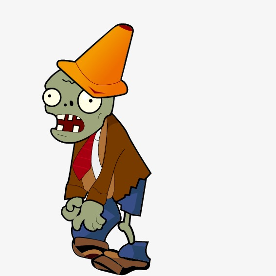Zombie game clipart vector freeuse Download Free png Plants Vs. Zombies, Game Elements, Zombie ... vector freeuse