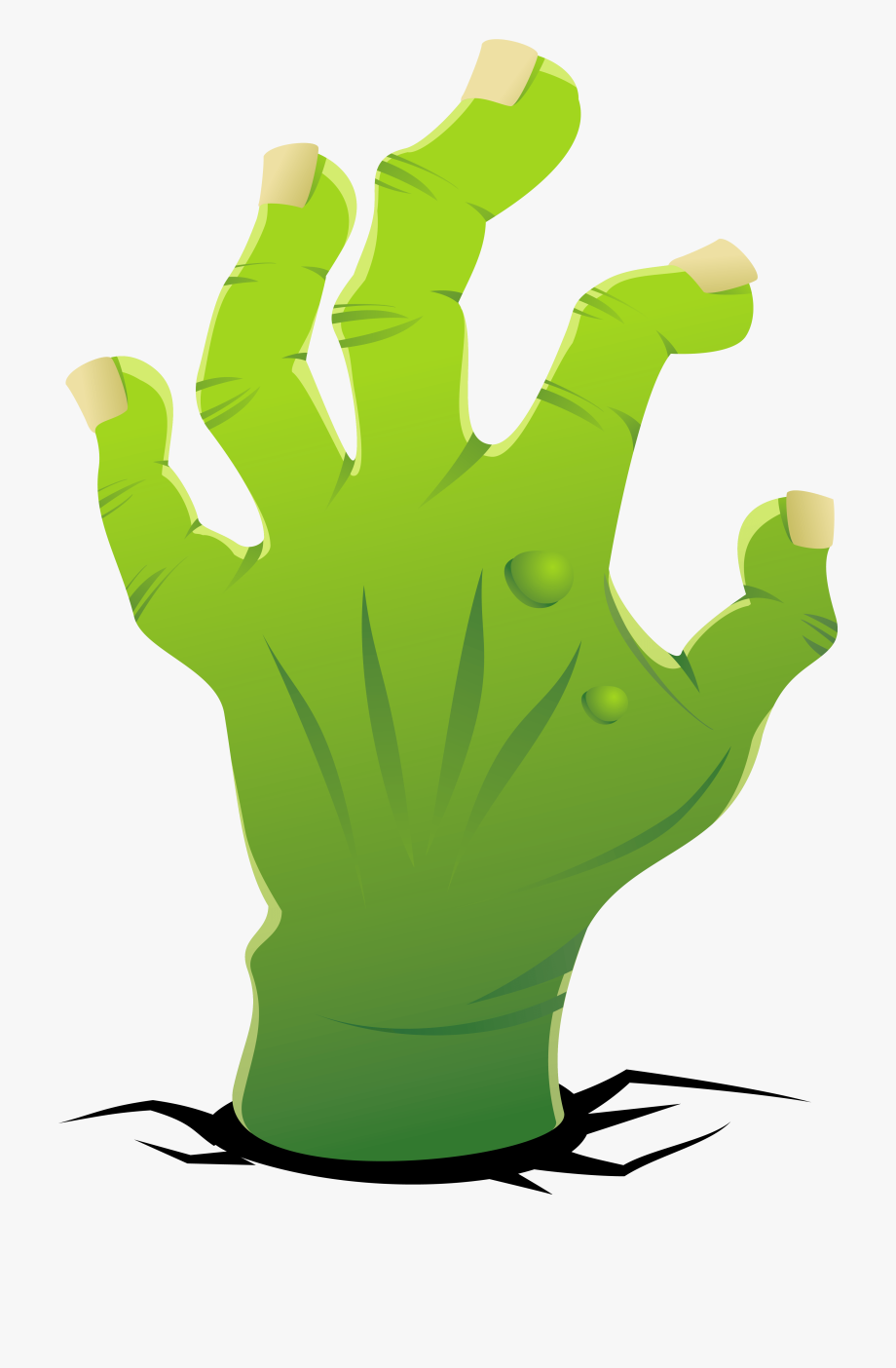 Zombie hand clipart jpg free Zombie Hand Png Clipart Image - Hand , Transparent Cartoon ... jpg free