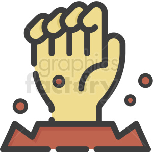 Zombie hand clipart picture download zombie hand vector hand . Royalty-free icon # 406361 picture download