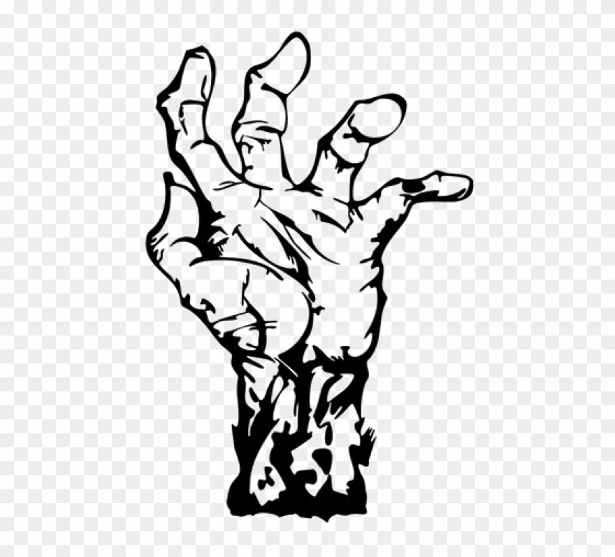 Zombie hand clipart picture library Free Png Download Zombie Hand Png Images Background ... picture library