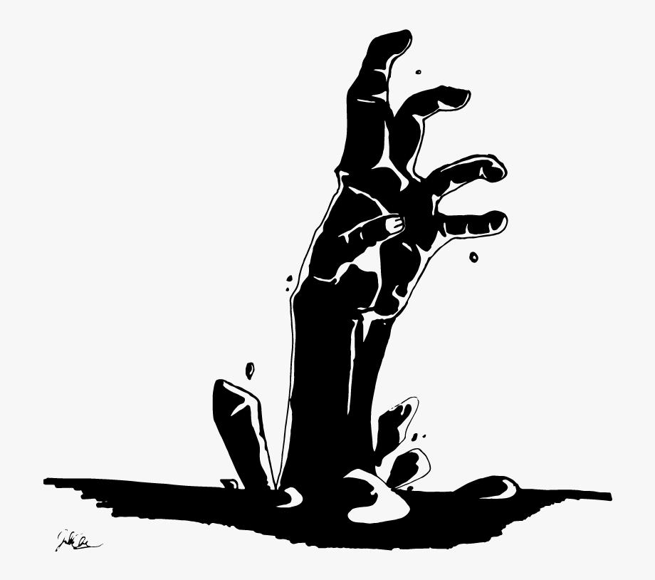 Zombie hand clipart clip art transparent Zombie Clipart Zombie Graveyard - Zombie Hand Clipart Black ... clip art transparent