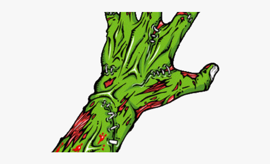 Zombie hand clipart image stock Fingers Clipart Zombie - Zombie Png Hand #131867 - Free ... image stock