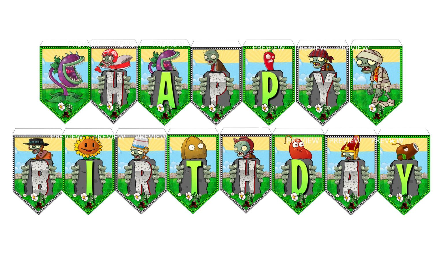 Zombie happy birthday clipart vector black and white download Pin by Debbie Johnson on Plants vs. Zombies Bday | Plants vs ... vector black and white download
