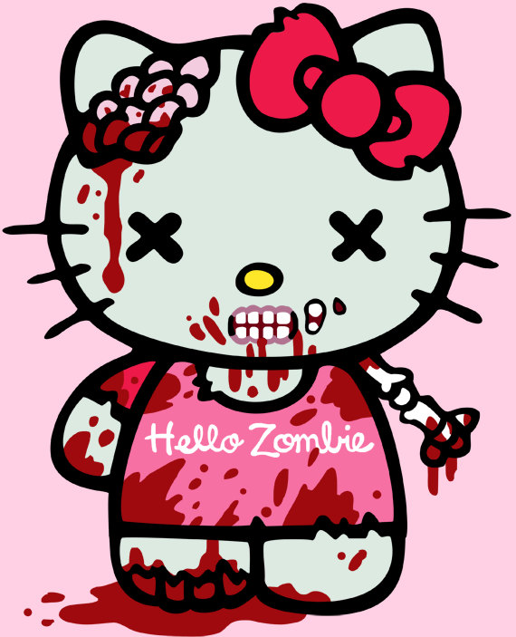 Zombie happy birthday clipart stock Happy birthday Hello Kitty - Imgur stock