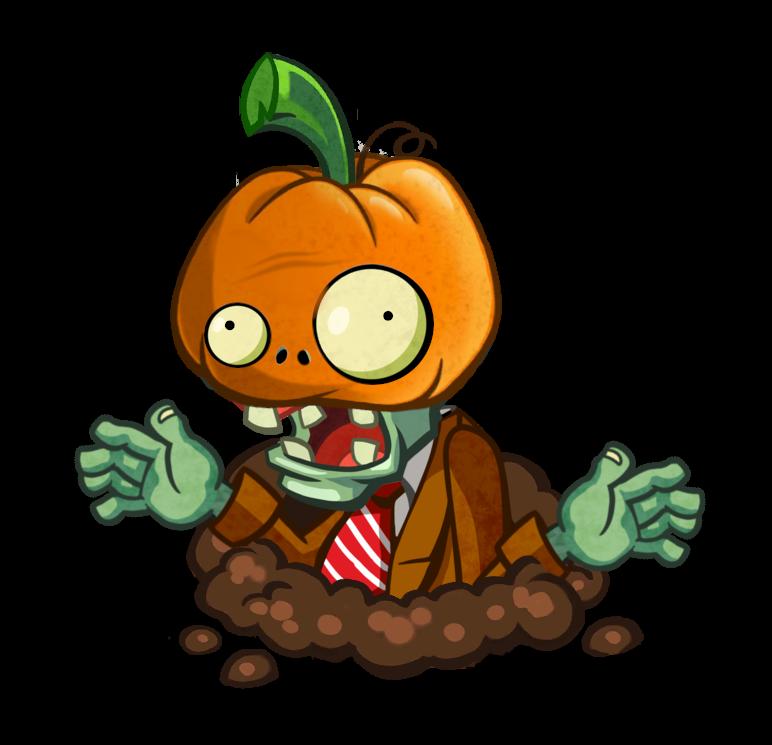 Zombie pumpkin clipart banner freeuse download Plants vs. Zombies Heroes Discussion #55 | Plants vs. Zombies Wiki ... banner freeuse download