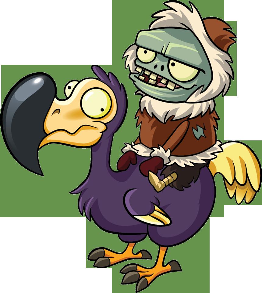 Zombie pumpkin clipart svg black and white download Dodo Rider Zombie/Gallery | Plants vs. Zombies Wiki | FANDOM powered ... svg black and white download