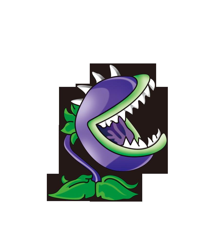 Zombie teeth clipart vector freeuse Plants vs. Zombies Cartoon Illustration - Piranha png ... vector freeuse