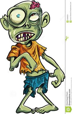 Zombie villains clipart clip freeuse download 34 Best Cartoon Tattoos For Girls Little Zombies images in ... clip freeuse download