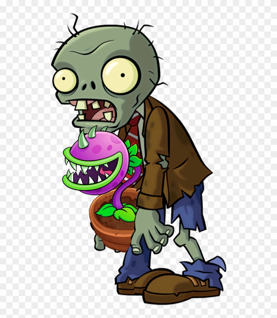 Zombie vs plants clipart png free library Plants Clipart Zombie - Zombies De Plants Vs Zombies - Png ... png free library