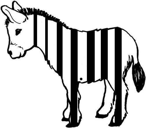 Zonkey clipart banner royalty free download GC14JD9 Zonkey or a Deebra? (Unknown Cache) in California ... banner royalty free download