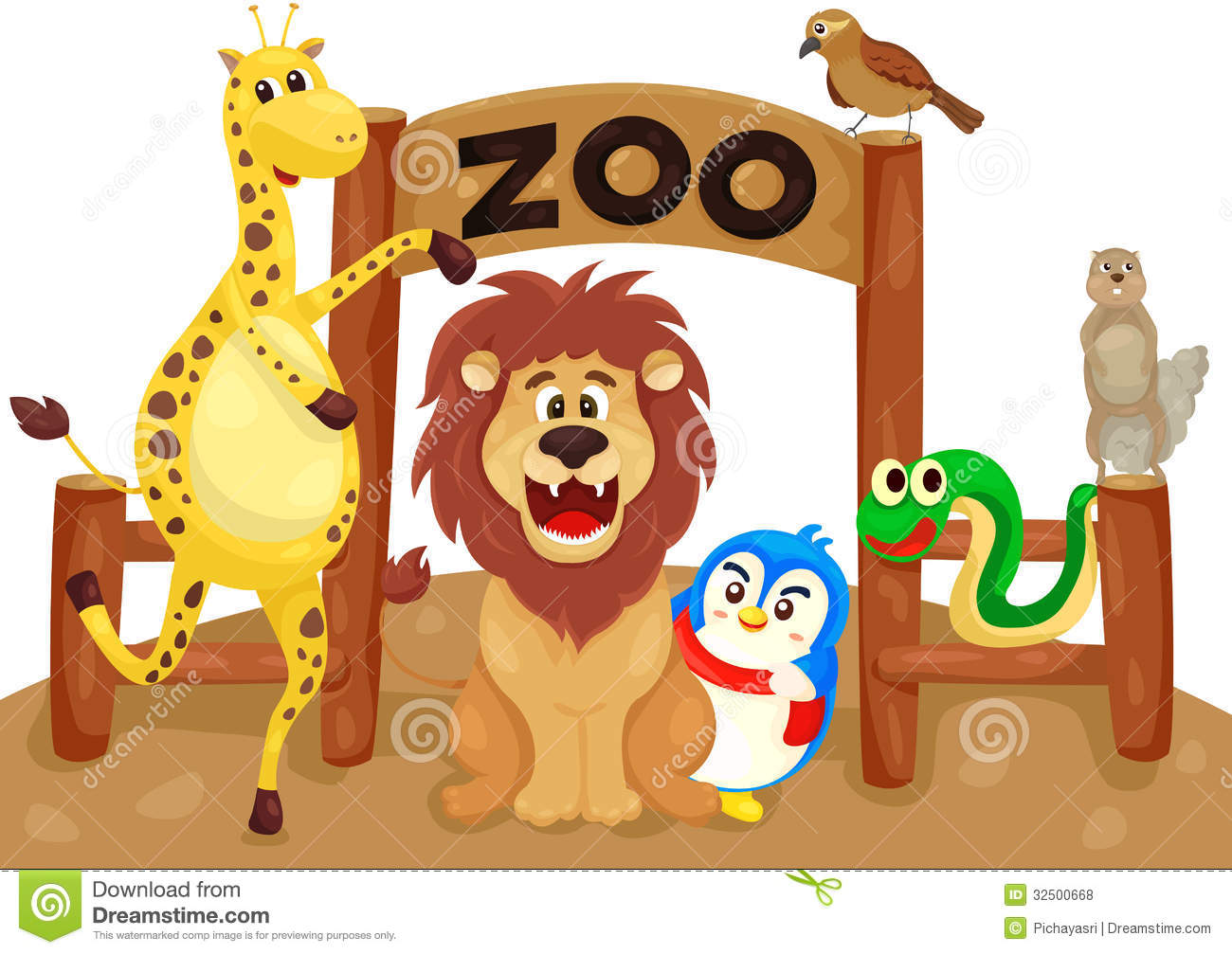 Zoo gift shop sign clipart graphic royalty free download Zoo clipart 6 » Clipart Station graphic royalty free download