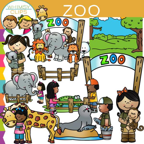 Zoo picture clipart clipart royalty free Kids Zoo Clip Art clipart royalty free