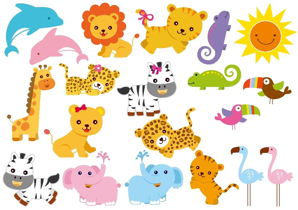 Zoo animal clipart sheet png royalty free stock Zoo animal clipart free - ClipartFest png royalty free stock