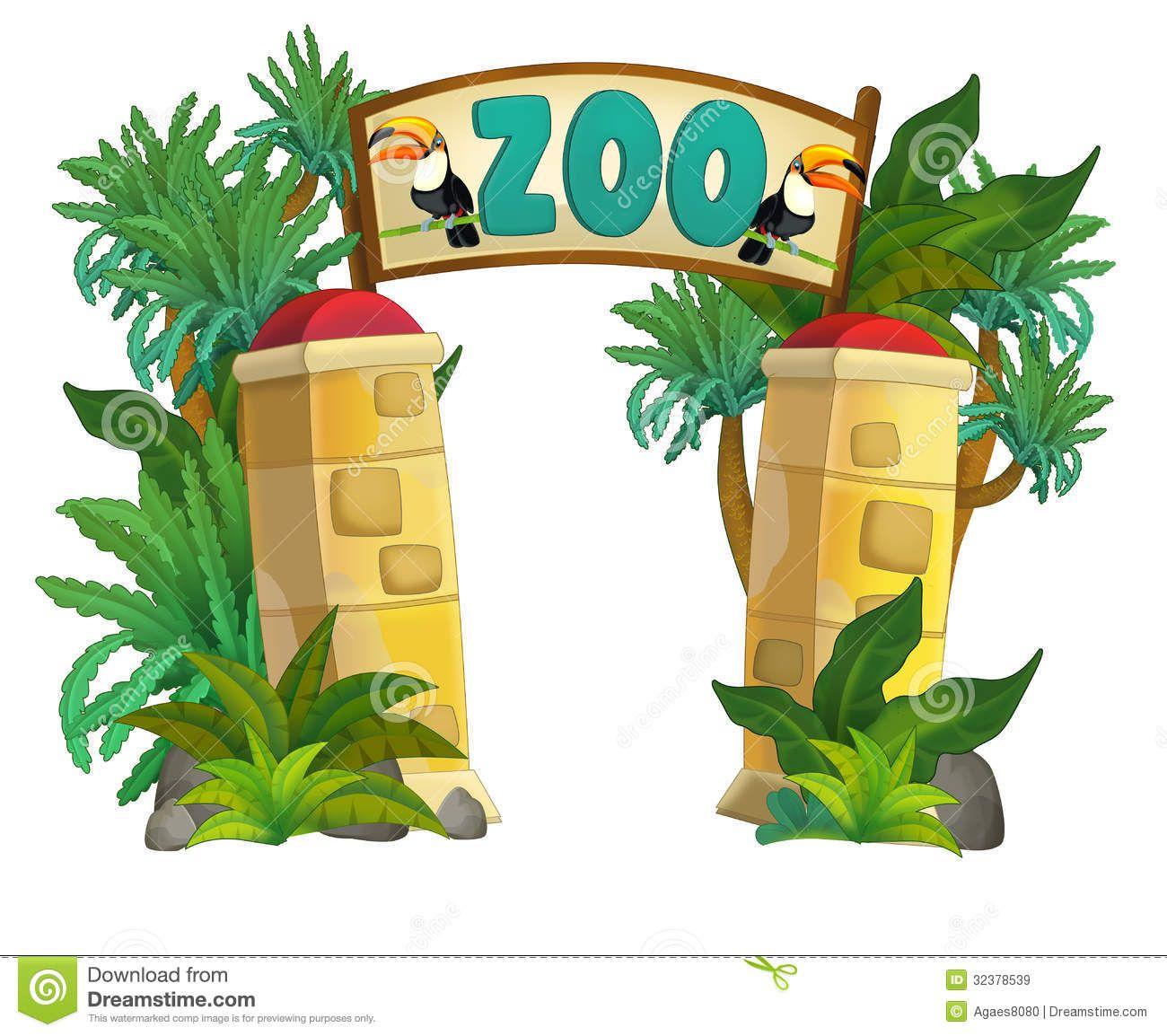 Zoo clipart backdrop image download Cartoon Zoo Background - ClipartFest | Zoo Background ... image download