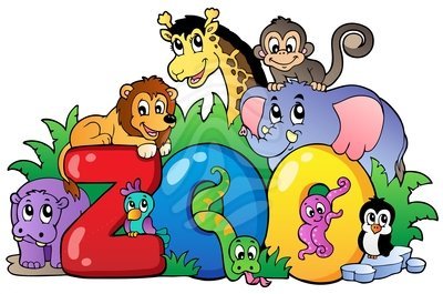 Zoo directions clipart vector freeuse library 64+ Clipart Zoo | ClipartLook vector freeuse library