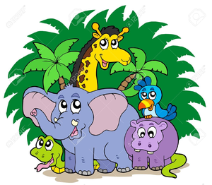 Zoo picture clipart vector black and white Suzy Zoo Clipart   Free Images at Clker.com - vector clip ... vector black and white