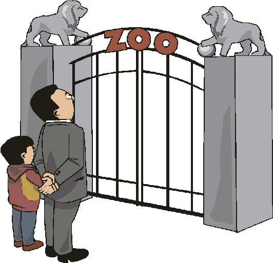 Zoo gates clipart image royalty free School Gate Clipart   Free download best School Gate Clipart ... image royalty free
