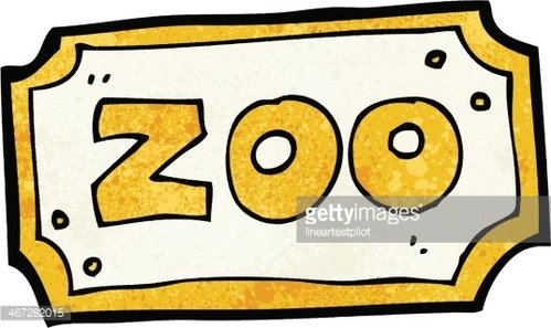 Zoo gift shop sign clipart clipart free stock Cartoon Zoo Sign premium clipart - ClipartLogo.com clipart free stock