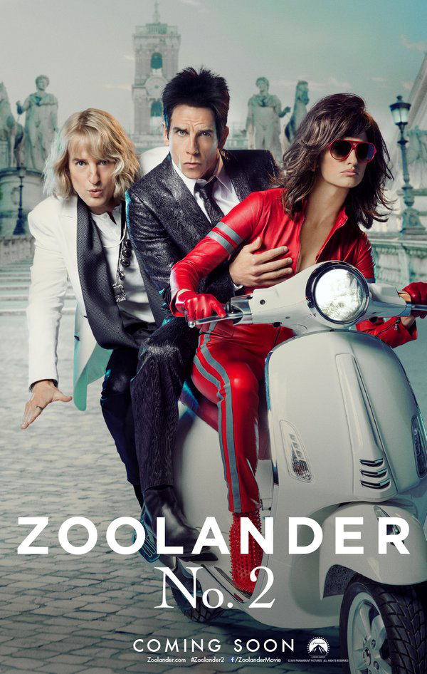 Zoolander 2 vector library Zoolander 2 Trailer is Most Successful Comedy Trailer Launch vector library