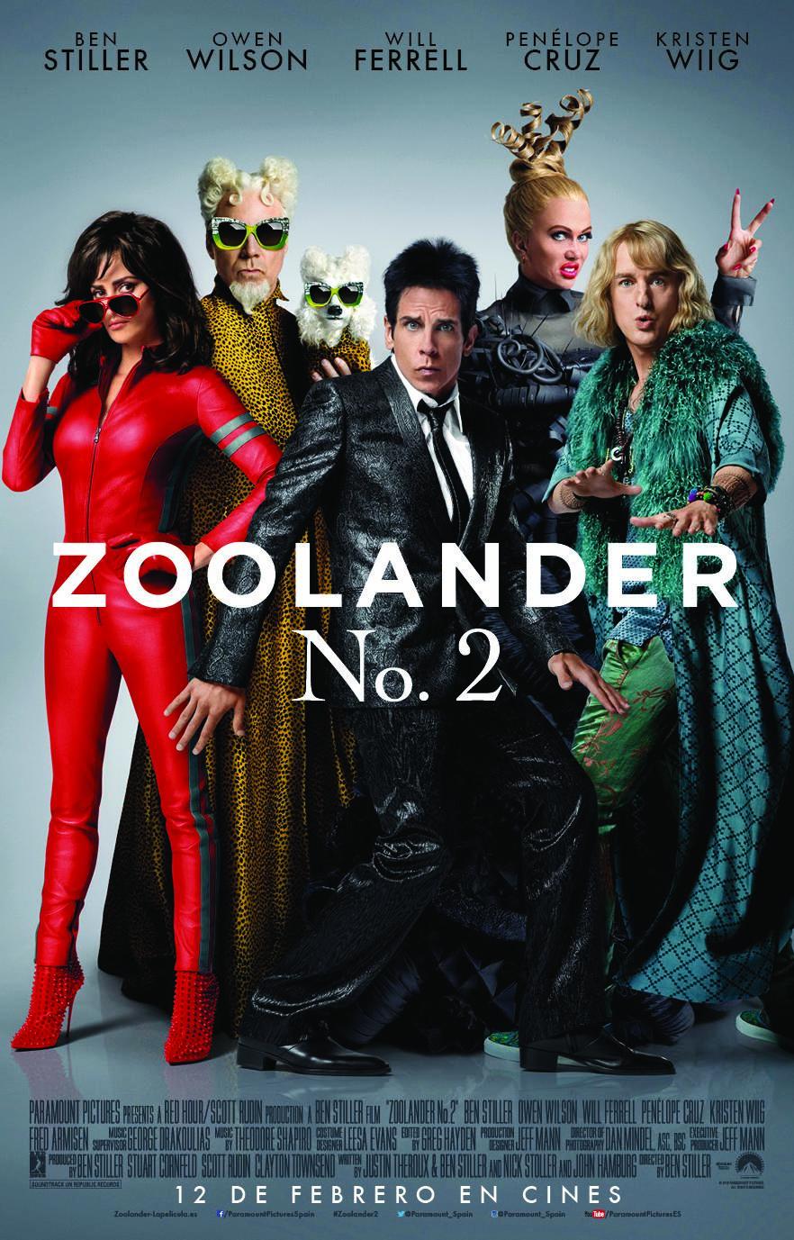 Zoolander 2 clipart freeuse stock Zoolander 2 (2016) 1080p WEBDL x265 500mb - Movies Burg clipart freeuse stock