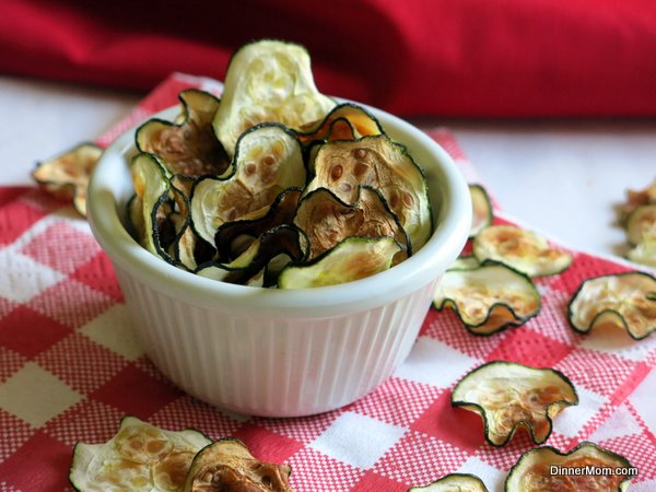 Zucchini chips transparent library Zucchini Chips in the Microwave or Oven - The Dinner-Mom transparent library